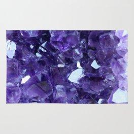 Raw Amethyst - Crystal Cluster Rug