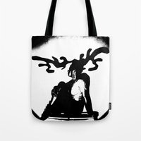 antler Tote Bags featuring Antler by Maria Kate Betts