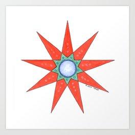 GRANDMOTHER STAR  Art Print