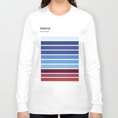 The colors of - Ponyo Long Sleeve T-shirt
