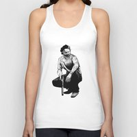 rick grimes Tank Tops featuring Rick Grimes by Naomi Bell
