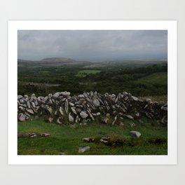 The Irish Wild West (County Clare) Art Print