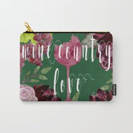 Wine Country Love Carry-All Pouch