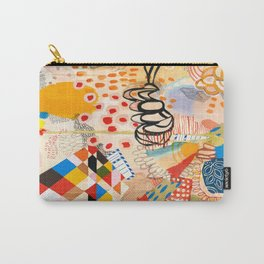 Wallpaper and Diamonds Part II Carry-All Pouch