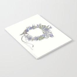 Flowers & Dandelions Flower Crown Notebook