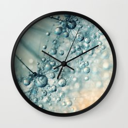 Sand & Sea-foam Dandy Wall Clock
