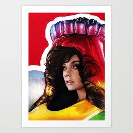 BJORK - VOLTA Art Print
