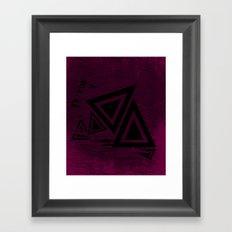 Line Drawing 4 Framed Art Print