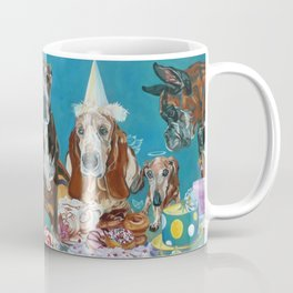 The Last Dessert Dog Portrait Coffee Mug