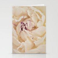 peony Stationery Cards featuring Peony by Artemio Studio