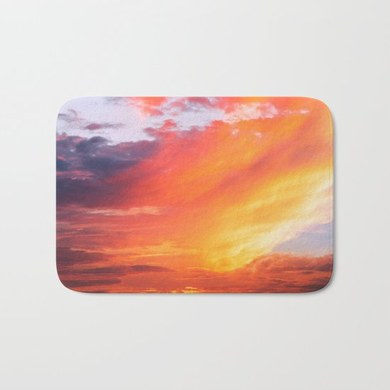Alternate Sunset Dimensions Bath Mat