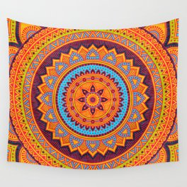 Hippie mandala 67 Wall Tapestry