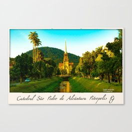 Catedral Canvas Print