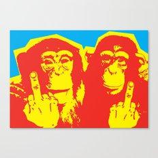 Monkeybird Canvas Print