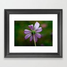 Stop and Simply Be Framed Art Print