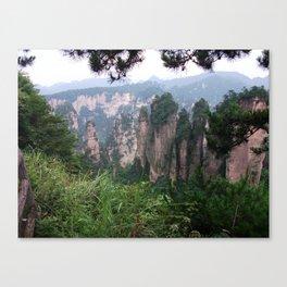 Wulingyuan Canvas Print