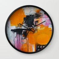 tokyo Wall Clocks featuring tokyo by Cathrin Gressieker