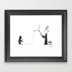 Feeshing Framed Art Print