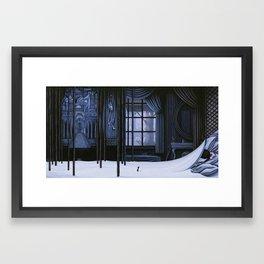 Night Visit Framed Art Print
