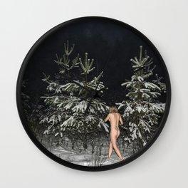 Naked Mile Wall Clock
