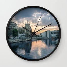 Berlin - West Wall Clock