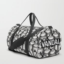 VANDAL and SPRAY CANS Duffle Bag