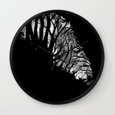 Nature Stripes Wall Clock
