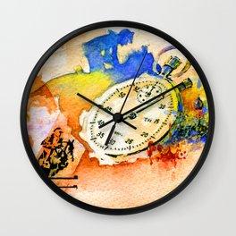 Riders Wall Clock