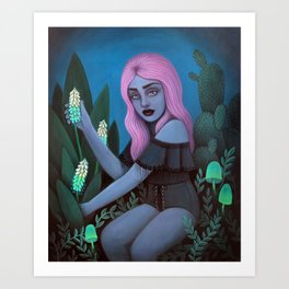 For Toxic Tea Art Print
