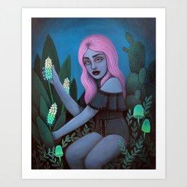 For Toxic Tea Art Print