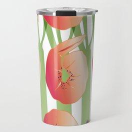 Shrimps with Pomegranates Sauce Travel Mug