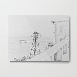 Ride to Alcatraz Metal Print