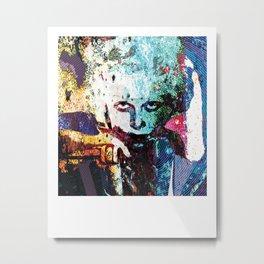 Jean Metal Print