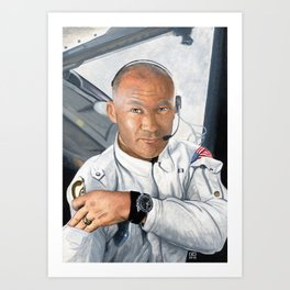 Apollo 11 - Buzz Aldrin Art Print