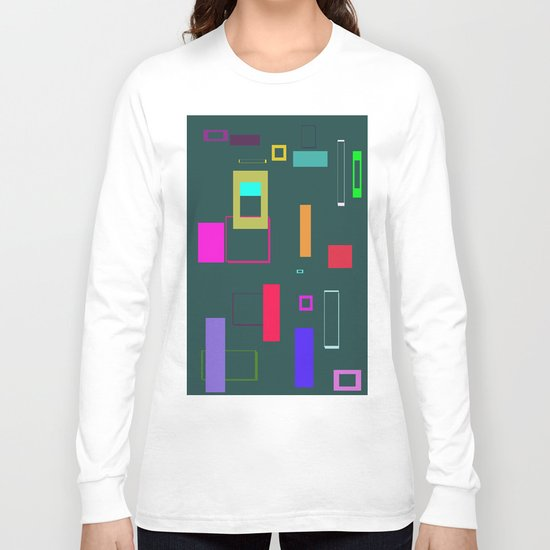 Squares and Rectangles Long Sleeve T-shirt