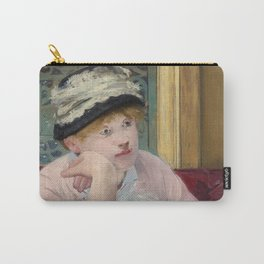 Manet,Fine Art,Beautiful,Wall Art,Framed,Poster,Canvas,Prints,Notebooks,Card,Gift,Gifts,Special,Rare Carry-All Pouch