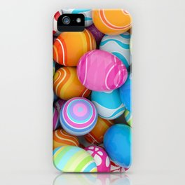 Easter Eggs iPhone Case