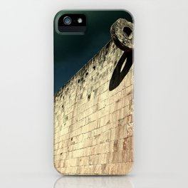 The Ball Court iPhone Case