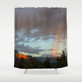Sedona Rainbow Shower Curtain