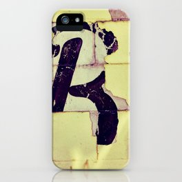 The Letter iPhone Case