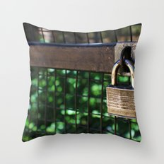 ~Lock Your Love Up and Throw Away the Key~ Throw Pillow