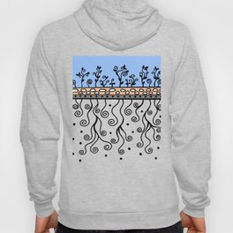 Strong Roots for Growth - Blue Mustard Yellow Hoody