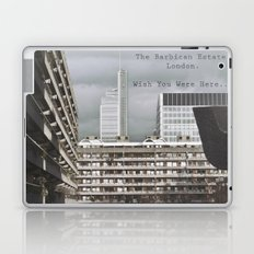 postcard from the barbican... Laptop & iPad Skin