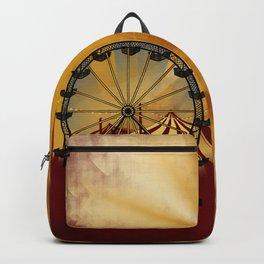 Old School Carnival Ferris Wheel Backpack