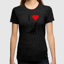I Love Dinosaurs - Brachiosaurus T-shirt
