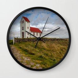 Chapel of Iceland Wall Clock