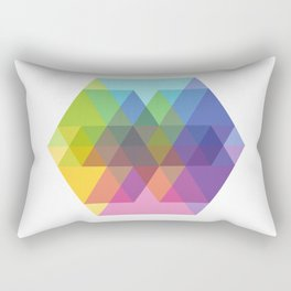 Fig. 040 Hexagon Shapes Rectangular Pillow