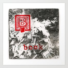 B is for book Art Print