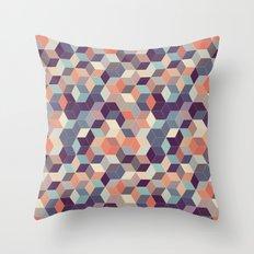 Lavender Garden Throw Pillow