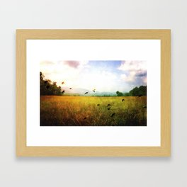 Valley D'Or Framed Art Print